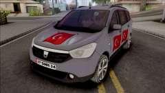 Dacia Lodgy Turkish for GTA San Andreas