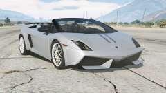 Lamborghini Gallardo LP 570-4 Spyder Performante for GTA 5