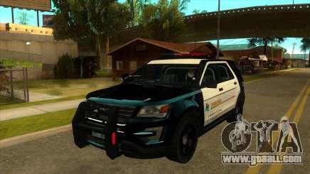 MGRP Police Rancher V1 for GTA San Andreas