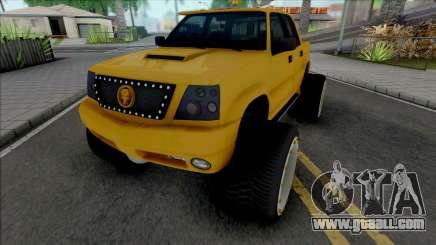 Cavalcade FXT Lifted for GTA San Andreas