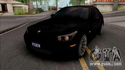 BMW M5 Türkiye for GTA San Andreas