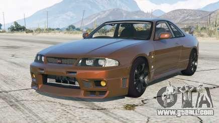 Nissan Skyline GT-R V-spec (BCNR33) 1995 for GTA 5