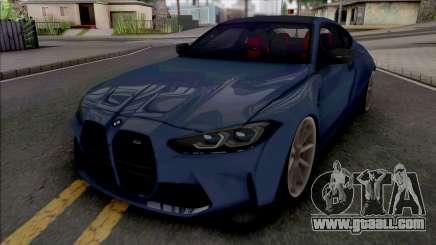BMW M4 2021 WideBody for GTA San Andreas