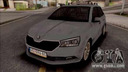 Skoda Fabia 2020 for GTA San Andreas