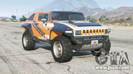 Hummer HX concept 2008 for GTA 5