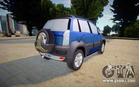 Fiat Idea Adventure 2011 for GTA San Andreas