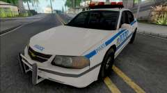 Chevrolet Impala 2003 NYPD (1024x1024 Texture)