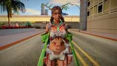 Tekken 7 Julia Chang Nature Costume for GTA San Andreas