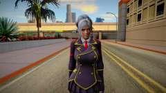 Christie Uniform for GTA San Andreas