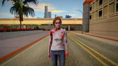 Jill Valentine Zombie for GTA San Andreas