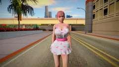 DOAXVV Honoka Sweety Valentines Day for GTA San Andreas