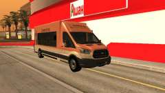 Ford Transit Food Truck for GTA San Andreas