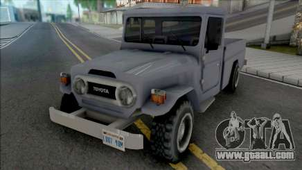 Toyota Land Cruiser (Pick Up) for GTA San Andreas