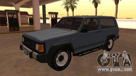 Envemo Camper 1990 for GTA San Andreas