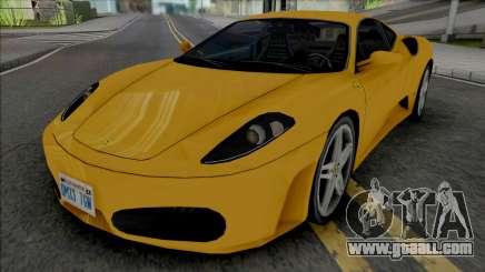 Ferrari F430 Improved for GTA San Andreas