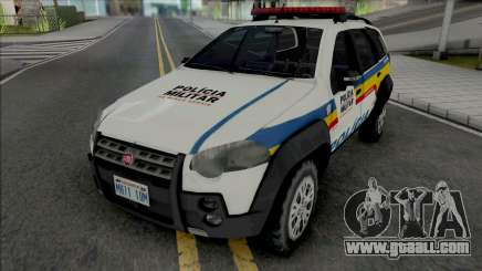 Fiat Palio Weekend Adventure 2013 PMMG for GTA San Andreas