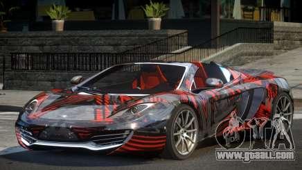 McLaren MP4-12C PSI-R PJ6 for GTA 4