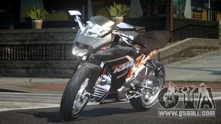 KTM RC390 for GTA 4