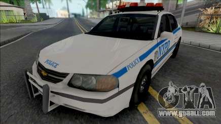 Chevrolet Impala 2003 NYPD (1024x1024 Texture) for GTA San Andreas