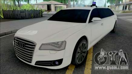 Audi A8 Limo for GTA San Andreas
