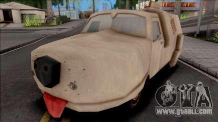 Van from Dumb and Dumber for GTA San Andreas