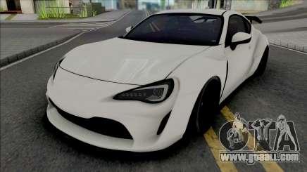 Subaru BRZ Artisan Spirit for GTA San Andreas