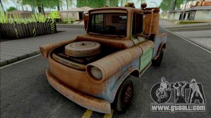 Tow Mater Normal Version for GTA San Andreas