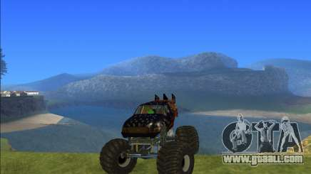 Kisaan Monster Truck for GTA San Andreas