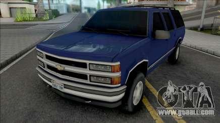 Chevrolet Suburban GMT400 1998 Improved for GTA San Andreas