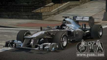 2013 Mercedes-Benz F1 W04 L6 for GTA 4