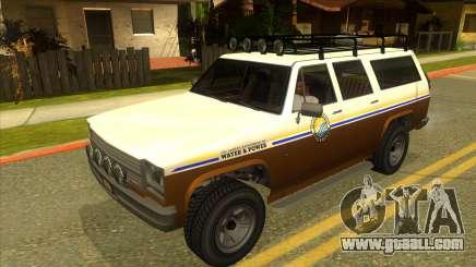 GTA V Rancher XL for GTA San Andreas