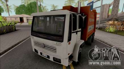 Volkswagen 16200 Garbage Truck (DFT-30 Edition) for GTA San Andreas