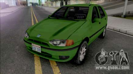 Fiat Palio 1997 Improved v2 for GTA San Andreas
