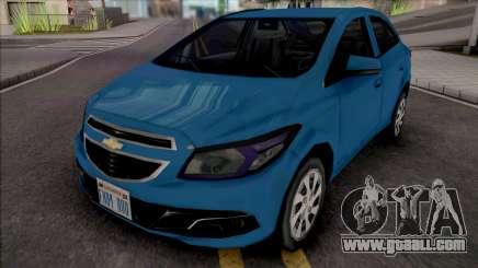 Chevrolet Onix LT 2013 for GTA San Andreas