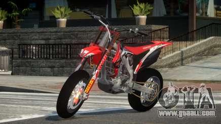 Honda CRF 250 L1 for GTA 4