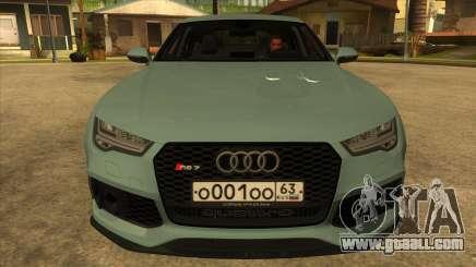 Audi RS7 Performance for GTA San Andreas