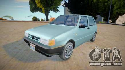 Fiat Uno Mille 1995 - Improved for GTA San Andreas
