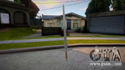 Old Russian Sword for GTA San Andreas