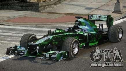 2013 Mercedes-Benz F1 W04 L5 for GTA 4