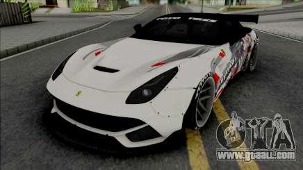 Ferrari F12 Berlinetta Prinz Eugen for GTA San Andreas