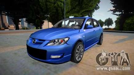 Mazda Speed 3 2019 for GTA San Andreas