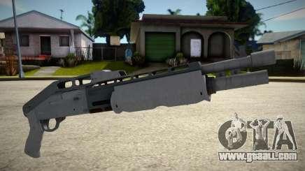 GTA V: Combat Shotgun for GTA San Andreas