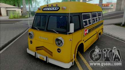 Dodge Bus Escolar v2 for GTA San Andreas