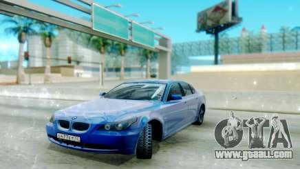 BMW E60 for GTA San Andreas