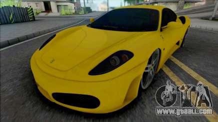 Ferrari F430 34 VUH 58 for GTA San Andreas
