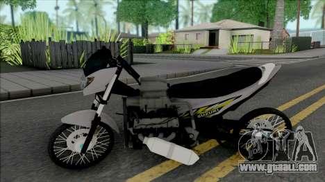 Suzuki Satria Drag Style for GTA San Andreas