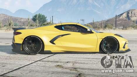 Chevrolet Corvette Stingray Mansaug (C8)〡add-on