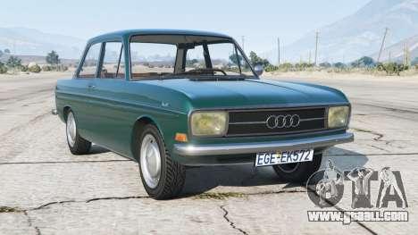 Audi 60 2-door sedan (F103) 1969〡add-on for GTA 5