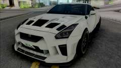 Nissan GT-R R35 Kream Edition for GTA San Andreas