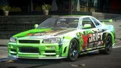 Nissan Skyline PSI Drift L1 for GTA 4